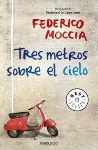 portada del libro tres metros sobre el cielo de Federico Moccia