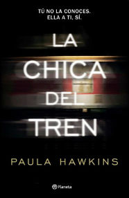 portada del libro la chica del tren de paula hawkins