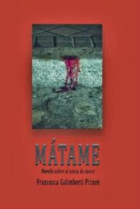 portada del libro de Mátame de Francesca